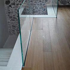 Parapetti in vetro per scale interne - Ringhiere in vetro per scale interne prezzi ...