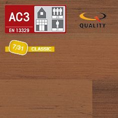 PREVENTIVO Pavimento Laminato MADEIRA WOOD (listello 1292 x 192 x sp. 7 mm.)