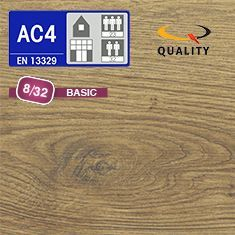 PREVENTIVO Pavimento Laminato ROVERE OXFORD (listello 1291 x 193 x sp. 8 mm.)