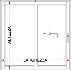 Preventivo portefinestra in legno scorrevole alzante bologna - Porta finestra misure ...