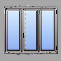 Listino prezzi finestre alluminio taglio termico - Finestra a 2 ante ...