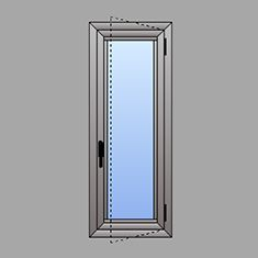 Beautiful profili alluminio prezzi contemporary - Finestre alluminio anodizzato ...