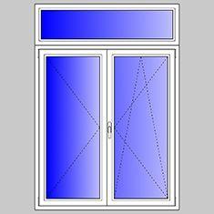 Listino prezzi finestre in pvc aluplast for Finestra pvc 2 ante