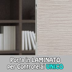 PREVENTIVO Porta Interna Scorrevole in Laminato Eclisse