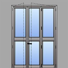 Listino prezzi finestre alluminio taglio termico for Finestra scorrevole 3 ante